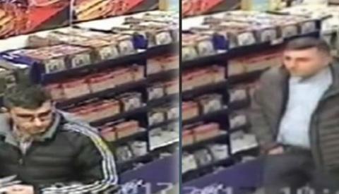 Video: Politie zoekt twee inktpatroondieven
