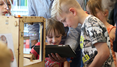Media Makerspace: cursus 3D-printen en toy vlog maken