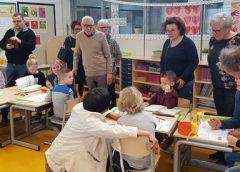 Drukke opa- en omadag op de Prinses Margrietschool