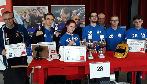Studenten ROC en Automotive College pakken twee prijzen op het NK Hydrogen Horizon Automotive Challenge
