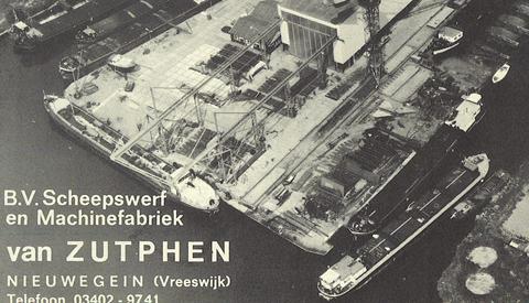 Lezing: 'De werven van Jutphaas, Vreeswijk en Nieuwegein'