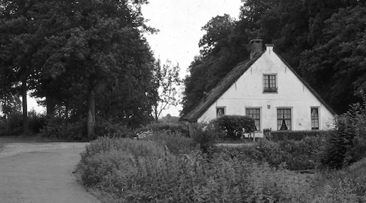 Toen & Nu: 'De portierswoning van kasteel Rijnhuizen'