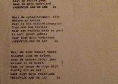 Weetje: Volkslied van Vreeswijk