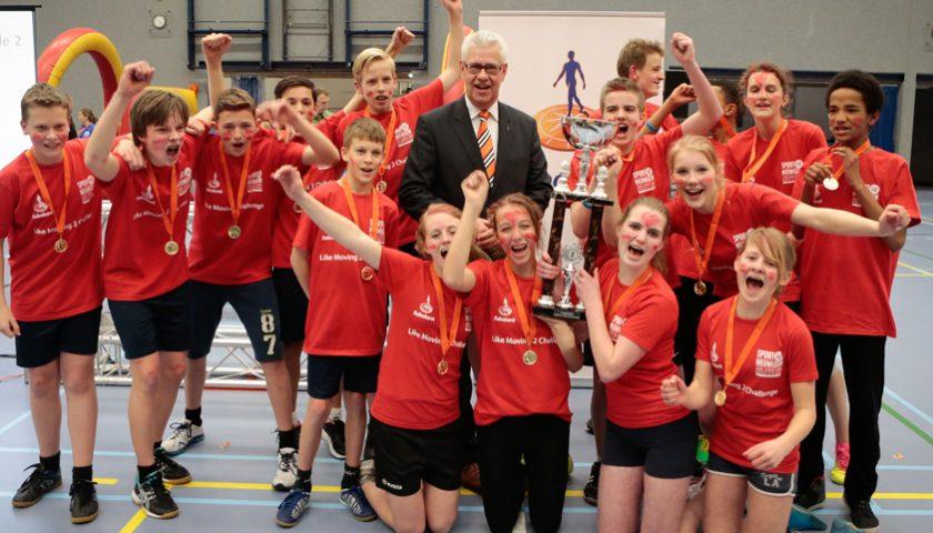 Strijd om sportiefste school van Nieuwegein