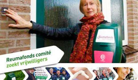 Collectecomité Nieuwegein zoekt collectanten voor ReumaNederland