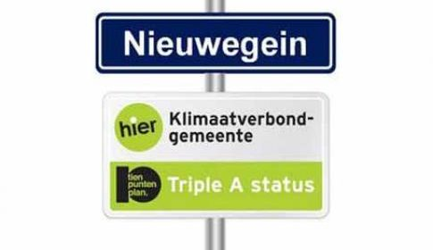 The Climate Miles 1 november door Nieuwegein