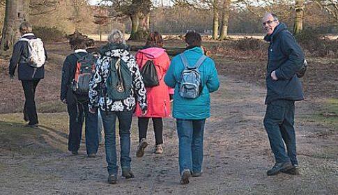 WandelgroepLOOP gaat in augustus weer aan de wandel