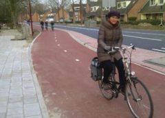 Nieuwegein scoort matig als het gaat om de verlichting op brom- en fietspaden