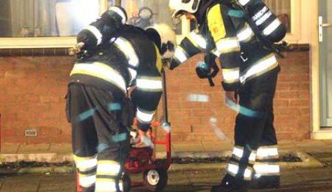 Aanhouding na woningbrand aan de Calèchedrift