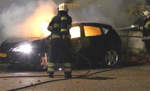Mogelijk pyromaan actief in Nieuwegein