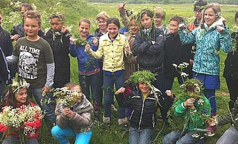 'Buitenlessen op basisscholen' lijken nu al een groot succes