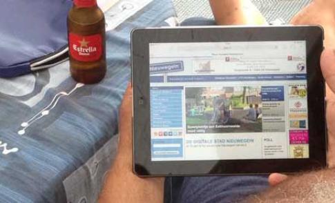 Jongeren uit Nieuwegein ondersteunen bij zoeken naar digitale informatie