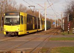 Tramuitval tussen Nieuwegein Zuid en Nieuwegein Stadscentrum
