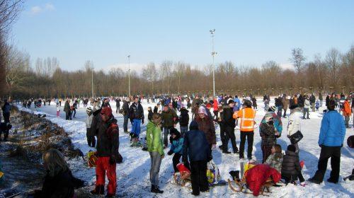Schaatsbaan op Parkhout officieel open