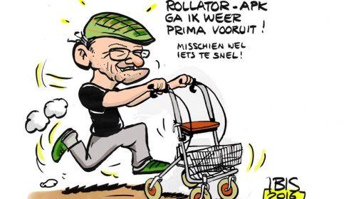 APK-keuring voor rollators, rolstoelen en driewielers in Galecop