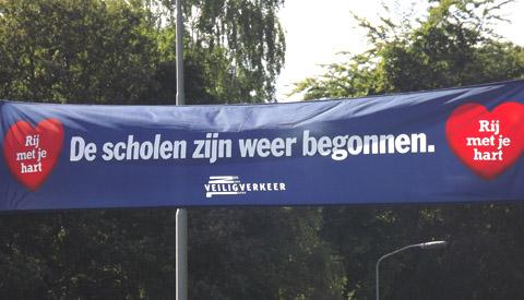 De scholen in Nieuwegein zijn weer begonnen