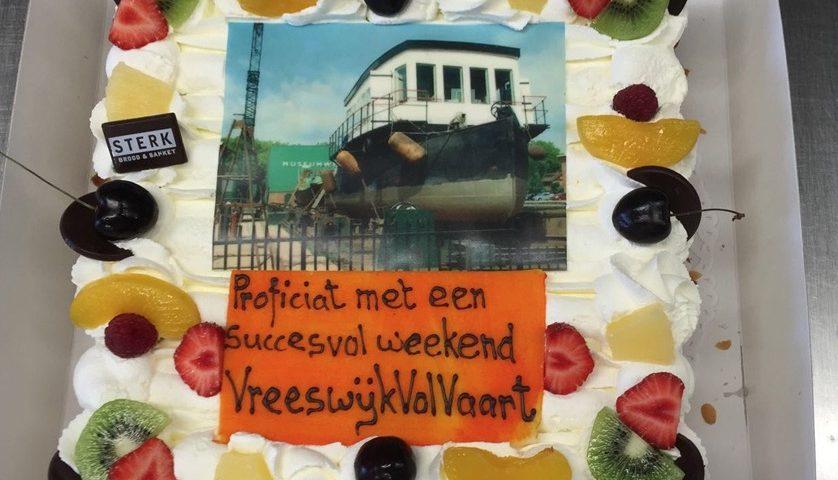Een taart voor VreeswijkVolVaart