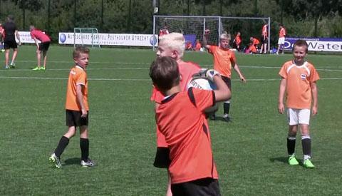 Voetbal Vierdaagse voor de jeugd op Sportpark Galecop