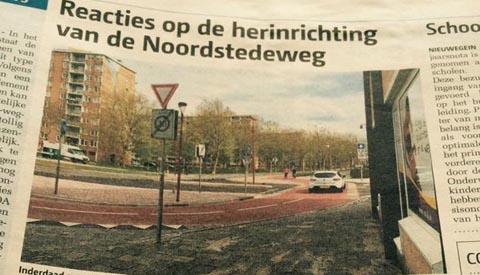Fietsersbond Nieuwegein: 'De Noordstedeweg een fietsstraat? Wat ons betreft niet…'