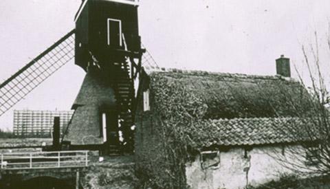 Toen & Nu: 'De molenaarswoning bij de wipwatermolen'