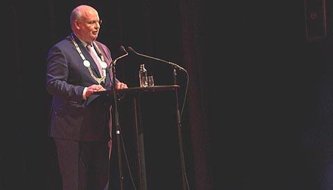 Nieuwjaarstoespraak burgemeester Frans Backhuijs