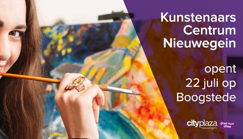 Kunstenaars Centrum Nieuwegein exposeert in Cityplaza