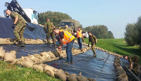 Hogheemraadschap De Stichtse Rijnlanden: 'Geslaagde crisisoefening rivierdijken: schat aan inzicht'