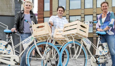 Gezellig fietsen samen met 'Nieuwegein Fietst!'