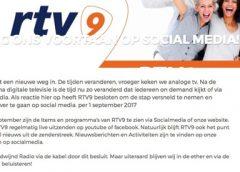 Jan met de Pet: 'Over RTV9 en verhogen eigen bijdrage ziektekosten'