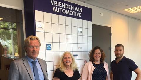 Officiële oprichting 'Vrienden van het Automotive College' Nieuwegein