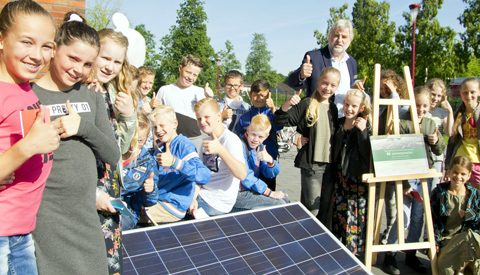 Provincie Utrecht helpt scholen verduurzamen