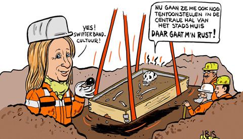 PENTekening: 'Nationale archeologiedagen in Nieuwegein'