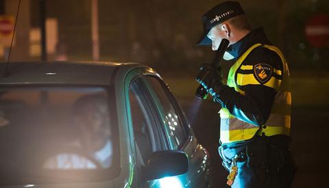 Twee Fransen aangehouden voor rijden onder invloed van drugs