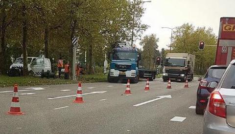 Vier flitspalen leveren voor Nieuwegein in 2018 maar liefst 81.013 bekeuringen op