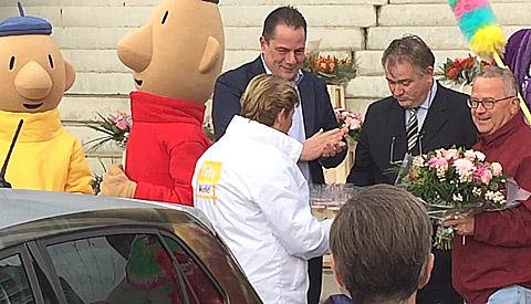 Markt in de binnenstad van Nieuwegein officieel geopend