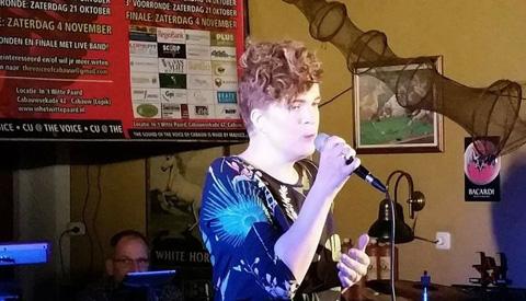 Laura Hulzebos in de finale van The Voice of Cabauw