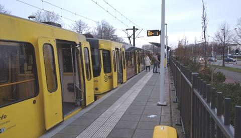 Uithoflijn en sneltramrails dit weekend met elkaar verbonden