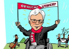 PENTekening: 'FC Utrecht spelers knappen tuintje op van'