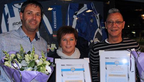 Nicole van Sloten erelid VSV Vreeswijk
