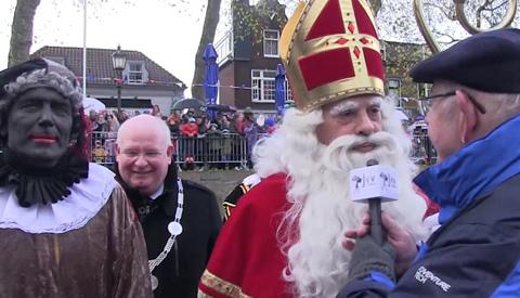 Video: Sinterklaas gearriveerd in Nieuwegein