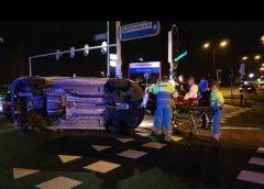 Vrouw gewond na ongeluk op de Plettenburgerbaan