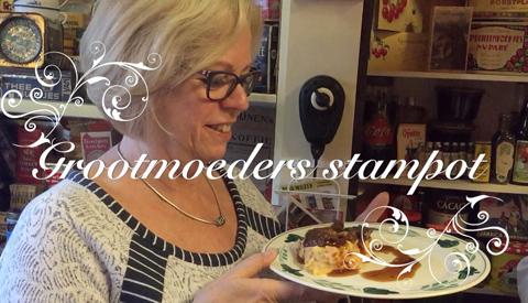 100% Cees. Deze week maakt Cees oma's stamppot in museum 'Van vroeger en Toen'