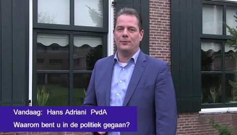 De gemeenteraadsverkiezingen komen er aan, de 'PvdA, gelukkig wel'