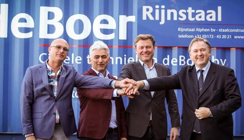 CT deBoer en Rijnstaal samen verder op bedrijvenpark Het Klooster