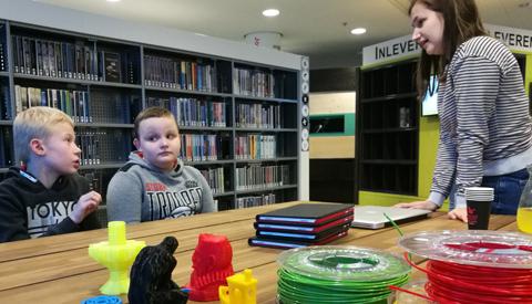Media Makerspace: cursus 3D-printen en bloggen