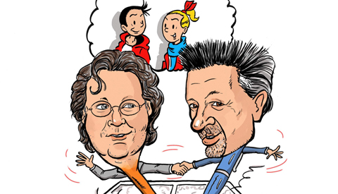PENTekening: 'Suske en Wiske Fandag in Nieuwegein'