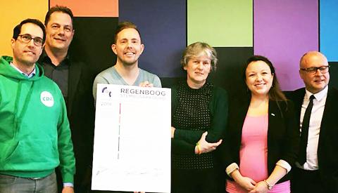 Vijf Nieuwegeinse partijen tekenen akkoord voor LHBTI-emancipatie