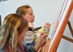 'Kids Art Club' weer een succes!