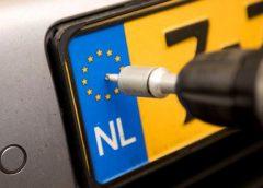 Ontvreemding kentekenplaten in Nieuwegein