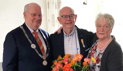 Drie Nieuwegeiners ontvingen vandaag een Koninklijke Onderscheiding